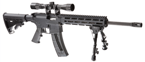 "Smith & Wesson M&P15-22 Sport II 22 LR, 16.5"" Barrel, 4X32 Scope, Caldwell XLA Bipod, M-Lok, 10rd, CA Compliant"