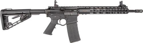 "American Tactical AR-15 Milsport RIA 5.56mm, 16"" Barrel, 12"" Keymod, M4 Stock, Iron Flip UP Sights, 30rd"