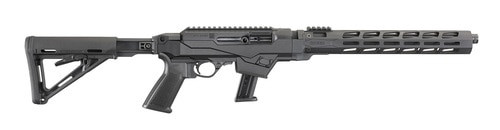 "Ruger PC Carbine 9mm, 16"" Barrel, Threaded and Fluted, M-LOK Handguard, 17rd Mag"
