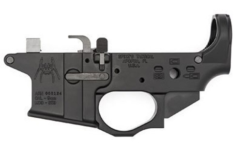 Spikes Tactical Lower Receiver Stripped - 9mm Colt Style - W/Spider Logo