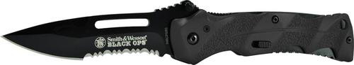 Smith & Wesson Knives Black Ops Serrated