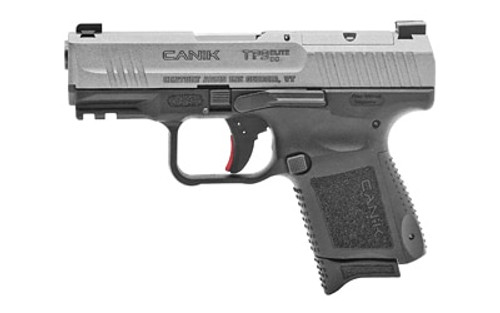 "Canik TP9 Elite SC 9mm, 3.6"" Barrel, Black, Micro Red-Dot Base Plate, Holster, 2 Back Staps, 2 Mags, 12rd-15rd"