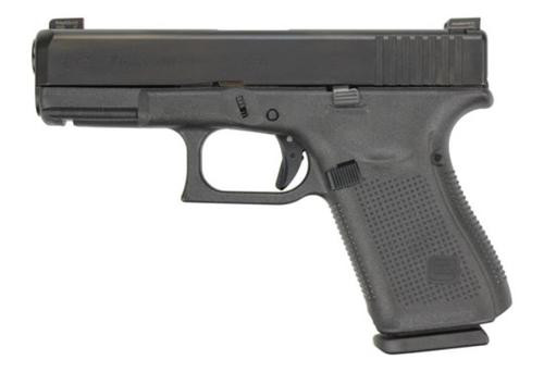 "Glock G19 Gen5, 9mm, 4.01"" Barrel, AmeriGlo Night Sights, Modular Backstrap, 15rd"