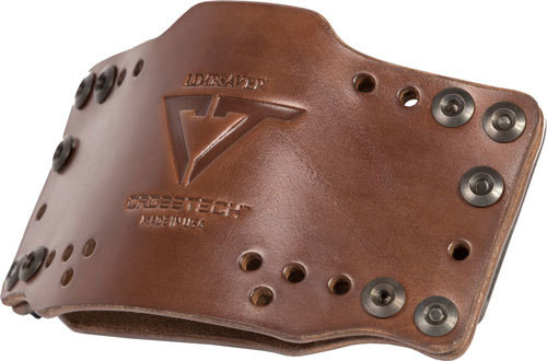 Limbsaver CrossTech Leather Clip-On, Universal, Dark Brown, 12522