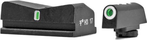 XS DXT Standard Dot - Walther CCP, PPS, PPS M2 9 & 40 Tritium Front, Tritium Rear