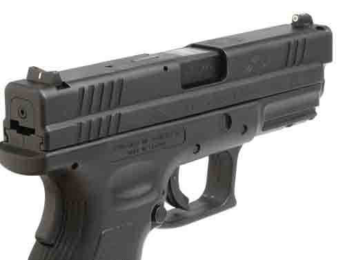 XS DXW Standard Dot - Sig P225, P226, P228, P229, P320, Springfield XD, XDM & XDS Tritium Front, White Stripe Rear