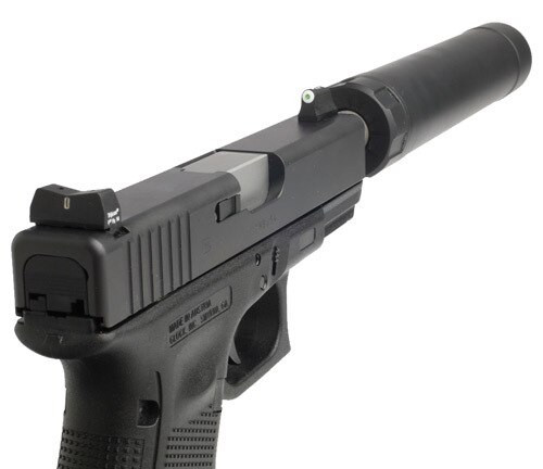 XS DXT Standard Dot - Glock Suppressor Height 17,19,22-24,26,27,31-36,38