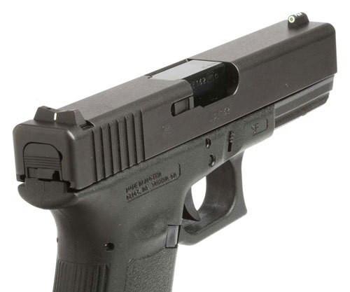 XS DXW Standard Dot - Glock 20,21,29,30,30S,37,41 Tritium Front, White Stripe Rear