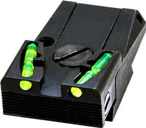 Hi-Viz, Adjustable Rear Sight, For Glock except 42/43/MOS, Includes Green, Red, and Black LitePipes