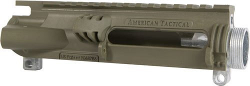 American Tactical ATI Polymer Hybrid Stripped Upper Multi CAL Insert Battlefield Green