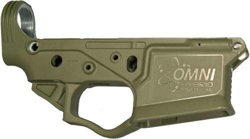 American Tactical ATI Omni Hybrid Polymer Stripped Multi-Cal Lower Battlefield Green