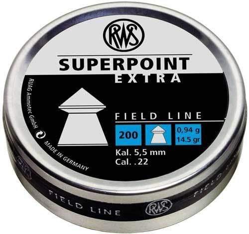 Umarex RWS Superpoint Extra Field Line 177 Pellet