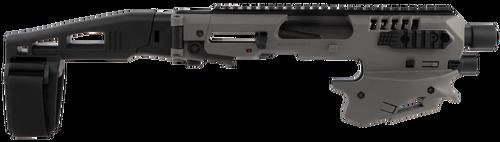 Command Arms Micro Conversion Kit Glocks, Grey Polymer, Black, Glock 17,19,19x,22,23,31,32,45