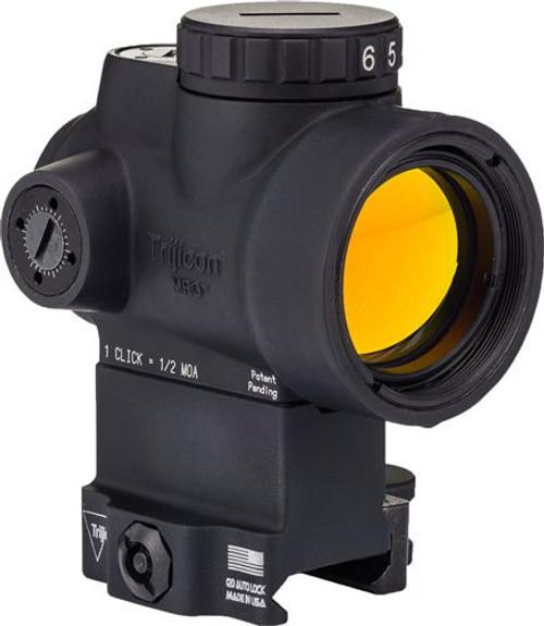 Trijicon 1X25 MRO 2.0 MOA Adjustable Green Dot; Ac32084
