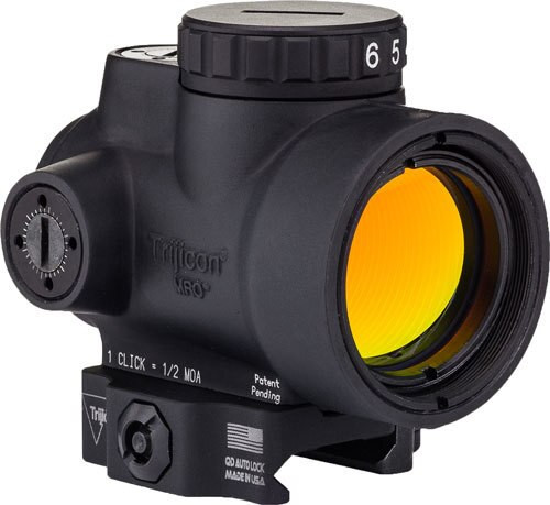 Trijicon 1X25 MRO 2.0 MOA Adjustable Green Dot; Ac32082