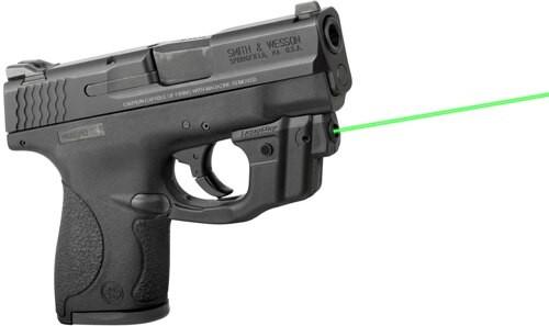 LaserMax Centerfire Laser Green, Gripsense, S&W Shield, 9mm/.40S&W