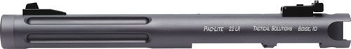 "Tactical Solutions Pac-Lite Ruger Mark I,II,III, 6"" Fluted Gun Metal Gray Barrel 22LR"