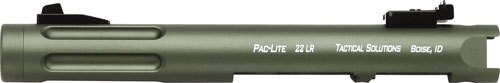 "Tactical Solutions Pac-Lite Ruger Mark I,II,III, 4.5"" Fluted Matte OD Barrel 22LR"