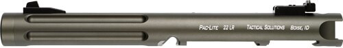 "Tactical Solutions Pac-Lite Ruger Mark IV, 6"" Fluted Matte OD Green Barrel 22LR"