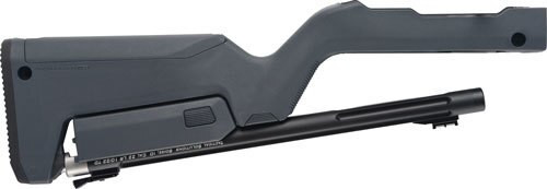 Tactical Solutions 10/22 Takedown Barrel/Stock, Magpul Backpacker Stock, Matte Black / Gray Stock 22LR