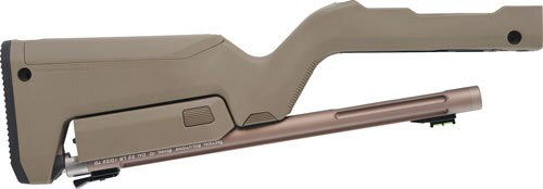 Tactical Solutions 10/22 Takedown Barrel/Stock, Magpul Backpacker Stock, Quicksand / Flat Dark Earth Stock 22LR