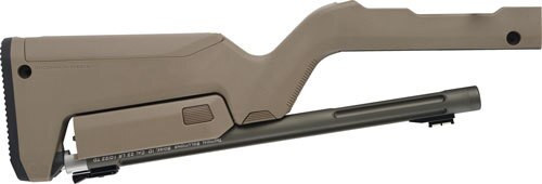 Tactical Solutions 10/22 Takedown Barrel/Stock, Magpul Backpacker Stock, Matte OD Green / Flat Dark Earth Stock 22LR
