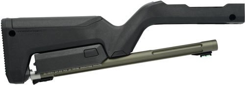 Tactical Solutions 10/22 Takedown Barrel/Stock, Magpul Backpacker Stock, Matte OD Green / Black Stock 22LR