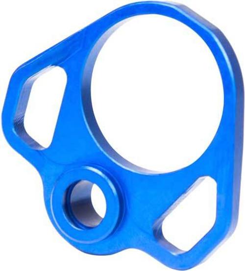 Odin Pistol Buffer Tube Back Plate - Blue