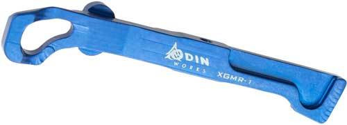 Odin Extended Glock Magazine Release - New Frontier Style- Blue