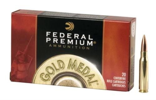 Federal Premium 308 Win (7.62 NATO) Sierra MatchKing BTHP 168gr, 20Box