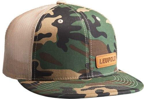 Leupold #112 Leather Patch Camo / Khaki OS