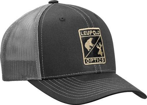Leupold L Optic Trucker Hat Black / Charcoal OS