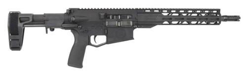"Radical Firearms RF-10 Billet AR Pistol 308WIN, 12.5"" Barrel, 1:10 Twist, Billet Aluminum Frame, Black, Maxim CQB Pistol Brace, 20Rd, 1 Magazine, 12"" TMS M-Lok Handguard, MFT EPG16V2 Grip"