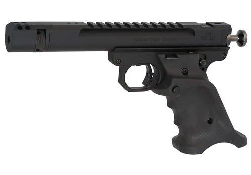 "Volquartsen Scorpion Open Model .22 LR, 4.5"" Barrel, Target 22 Style Frame, Compensator, Volthane Grips, Black"
