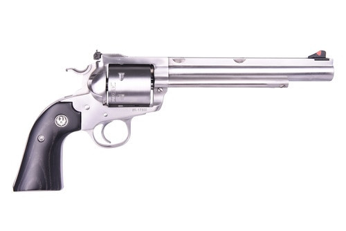 "Ruger Super Blackhawk Bisley Hunter 45 Colt 7.5"" Barrel SS finish, Non Fluted Cylinder 6 Round"