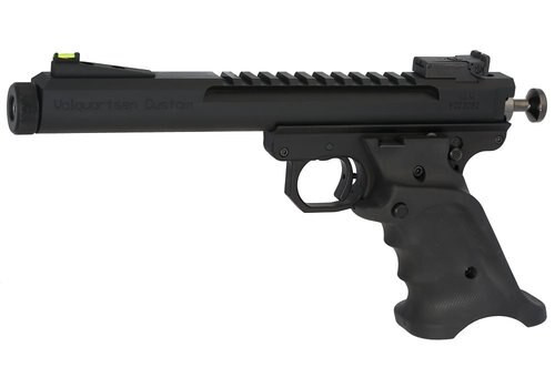 "Volquartsen Scorpion Limited Model .22 LR, 6"" Barrel, Target 22 Style Frame, Volthane Grips, Black"
