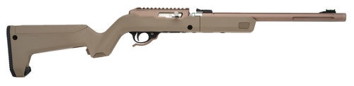 "Tacsol 22LR 10/22 Quicksand Finish Take Down 16"" Barrel, Magpul Backpacker Stock 10rd"