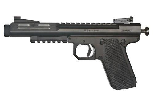 Volquartsen Scorpion .22 WMR, Target Sights, VZ Grips, Black, 9rd