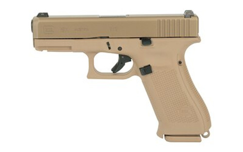 """Glock 19X Crossover 9mm, 4.02"""", GNS Coyote,  nPVD Slide, 10rd"""