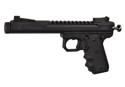"Volquartsen Scorpion .22 LR, 6"" Barrel, Hogue Grips, Target Sights, Black"
