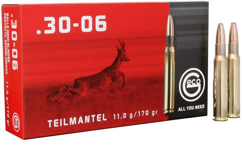 Geco 30-06 Springfield 170gr, Soft Point , 20rd Box