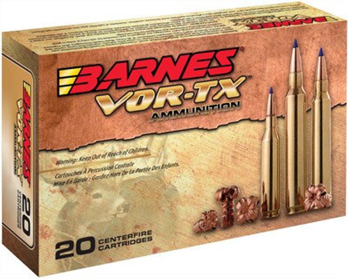 Barnes VOR-TX 6.5 Creedmoor 20gr, Tipped TSX Boat Tail, 20rd Box