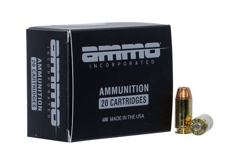 Ammo Inc American Hunter Black Label 40 S&W 180gr, Jacketed Hollow Point , 20rd Box