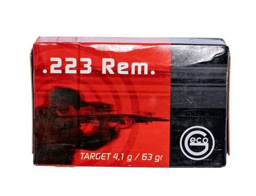 Geco Express 223 Rem 63gr, FMJ, 50rd Box