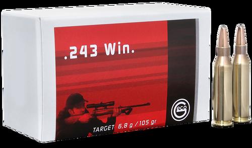 Geco Target 243 Win. 105gr, FMJ, 20rd Box