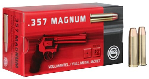 Geco Pistol 357 Mag 158gr, Hollow Point, 50rd Box