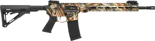 "Savage MSR15 Recon 223 Rem/5.56, 16.1"" Barrel, Magpul CTR Stock, American Flag, Black Melonite, 30rd"