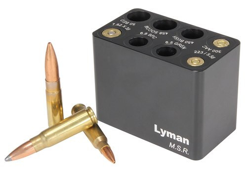 Lyman MSR Ammo Checker Block