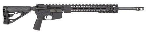 "Radical Firearms Forged MHR 450 Bushmaster, 20"" Barrel, 6 Position MFT Minimalist Stock, Black, 7rd"