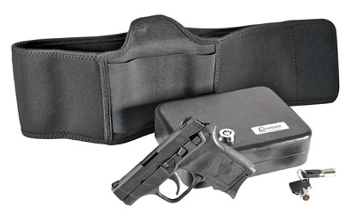 "Smith & Wesson M&P Bodyguard Defense Kit 380 ACP, 2.75"", Vault, Belly Band Holster, Black Matte, 6rd"